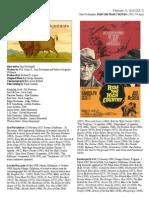 The Buffalo Films Festival-Ride the High Country-sam Peckinpah