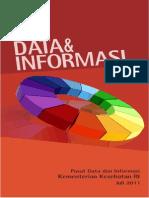 Booklet Data Dan Informasi Untuk Pimpinan