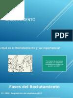 Reclutamiento presentacion