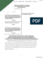 Tafas v. Dudas et al - Document No. 100