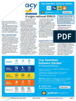 Pharmacy Daily for Thu 06 Aug 2015 - Guild urges national ERRCD, Adherium $35m ASX IPO, Pharmacists improve dabigatran adherence, Travel Specials and much more