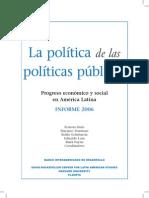 03. BID. La Politica de Las Politicas Publicas