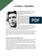 Biografías - Revolución Cubana