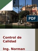 Control Calidad - Unidad 9 - Muestreo de Aceptación