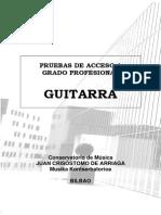 Guitarra 2013