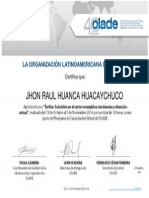 Certificado Virtual