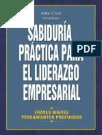 Libro Sabiduria Liderazgo Empresarial
