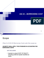 Ias 23 – Borrowing Cost