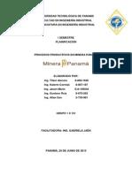 Trabajo de Minera Panamá