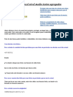 Curso de Excel Nivel Medio Textos Agregados