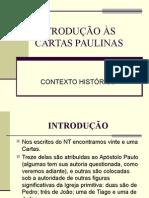Introdução as Cartas Paulinas
