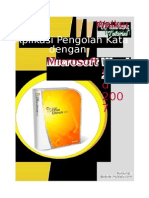 Tutorial Ms Word 2007 Baru