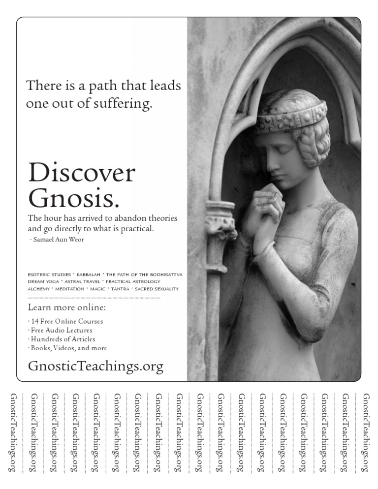 Suffering Flyer | Esoteric Schools Of Thought | Western Philosophy