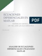 Clase 4a Ecuaciones Diferenciales en Matlab y Modelado