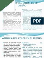 Armonía Del Color en El Diseño