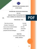 Analisis Foda Barriga Verde,Piscologia Industrial