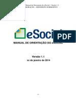(2) Manual de Orientacao Do ESocial _ Versao 1.1
