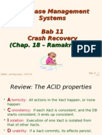 Bab 11 - Crash Recovery