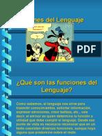 Funciones Del Lenguaje Ppt.