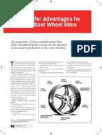 Laser Welding for Wheel Rims