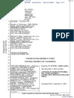 UMG Recordings, Inc. et al v. Veoh Networks, Inc. et al - Document No. 33