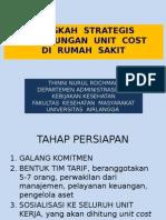 Langkah Strategis Perhitungan Unit Cost