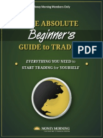 Absolute Beginners Guide Trading Investing