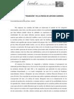 Nancy Fernández _vanguardia_ y _tradición_ en La Poesía de Arturo Carrera_landa_0