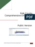 Comprehensive Emergency Plan Public