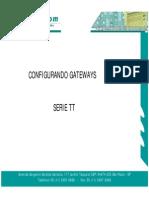 Procedimento de Configuração Serie Tt