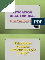 LABORAL LITIGACION ORAL.ppt