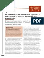 Contribucion Del Creecimiento AGRICOLA
