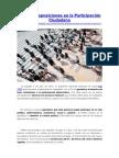 Nuevas Disposiciones en La Participación Ciudadana
