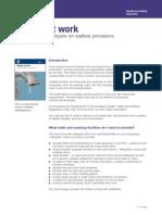 Welfare at Work- HSE