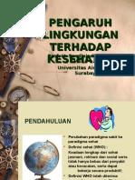 Bab 05 Pengaruh Lingkungan Thd Kesehatan