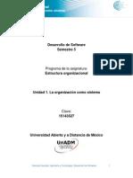 Unidad 1. La Organizacion Como Sistemas