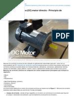 Electrical-Engineering-portal.com-La Corriente Continua CC Motor Directo Principio de Funcionamiento