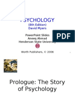 Prologue (History and Psychology Overview)