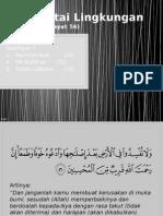 Mencintai Lingkungan (QS. Al-A'Raf 56)