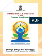 Common Yoga Protocol