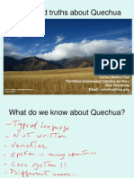 Myths and Truths About Quechua