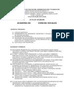 Acta de Reunión 2015-16