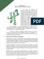 Determinación de la Proteína Total
