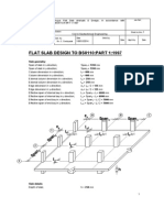 Flat Slab Design to Bs8110-Part 1-1997