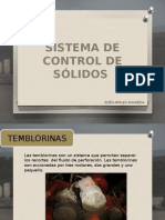 Control de Solidos