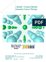 Cesium Chloride - Complementary Cancer Therapy