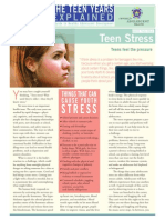 teen stress standalone
