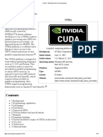 CUDA - Wikipedia, The Free Encyclopedia