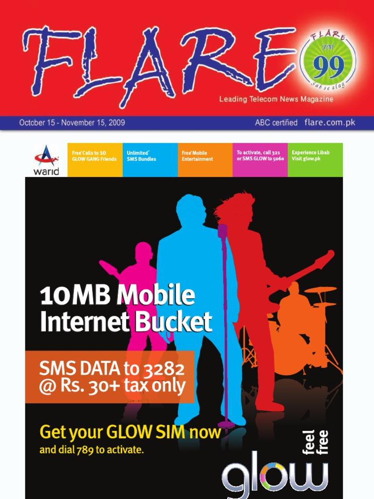 Flare Oct Nov 09 Short Message Service Mobile Phones Voucher Deposit Fz Cell 500
