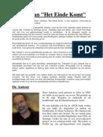 """Review van """"Het Einde Komt"""" door Peter Adriaens"""